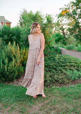Hailey and Co. Thelma Floral Maxi Dress