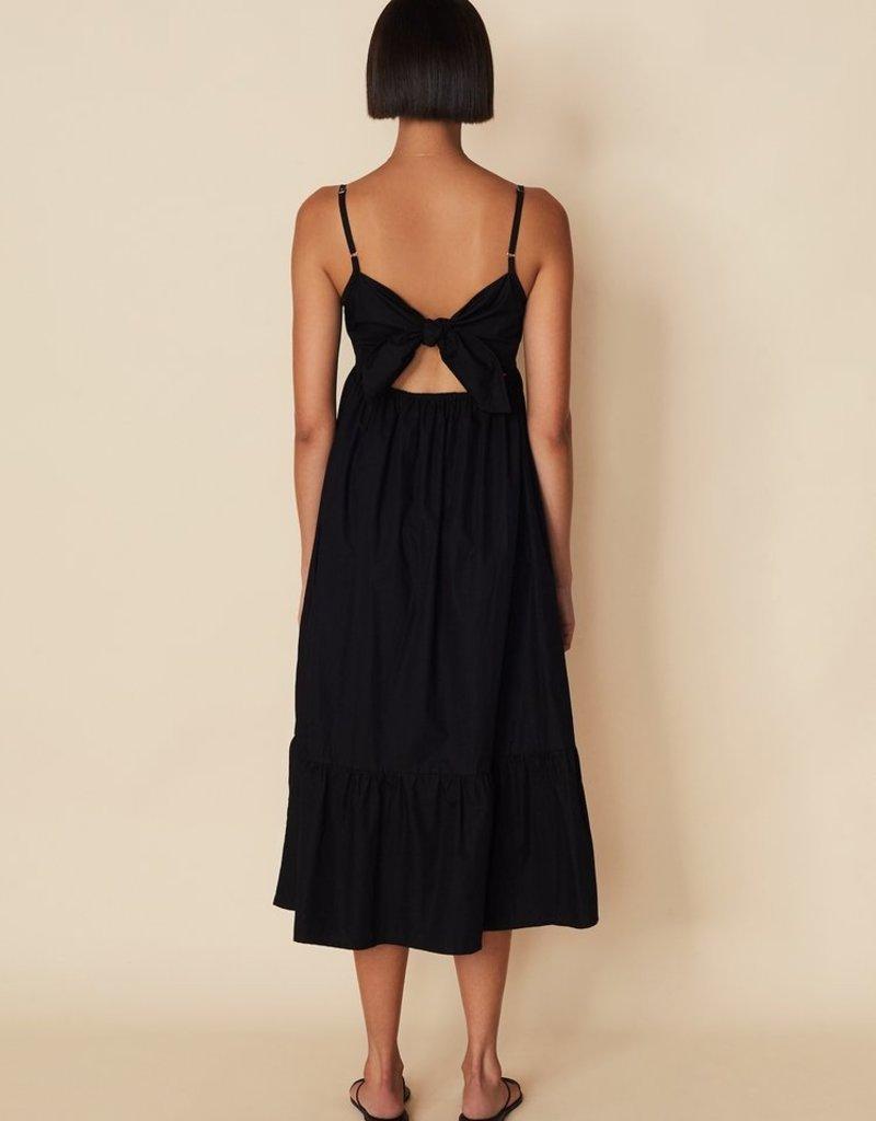 Faithfull Candace Midi Dress - Black