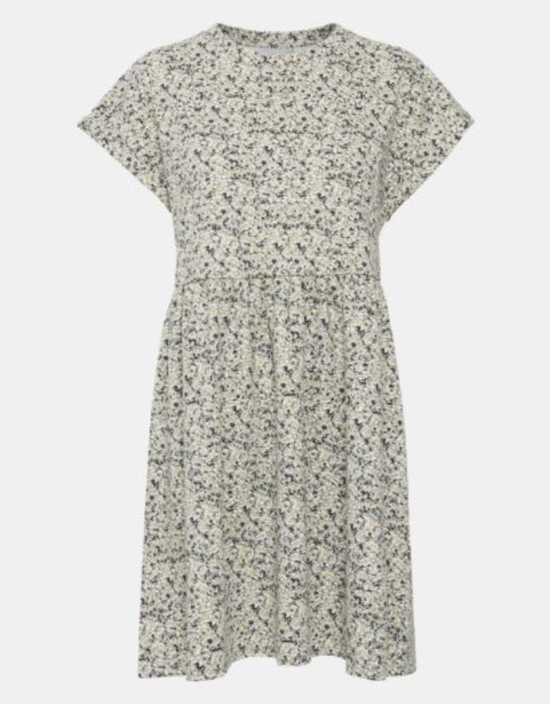 ICHI Kate Floral Printed Mini Dress