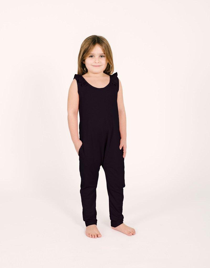 Smash + Tess Mini Sweetheart Kids Romper - Black