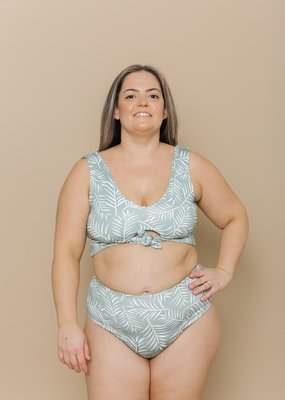 Imagine Perry Imagine Perry - Two Piece Swim Set in Palm
