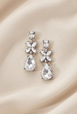 Olive & Piper Camille Drop Earring - Silver