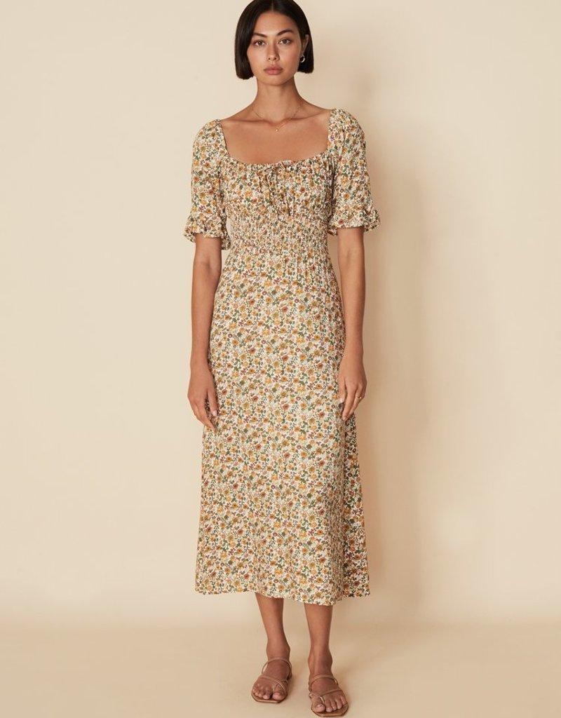 Faithfull El Paso Midi Dress - Seymour Floral Print