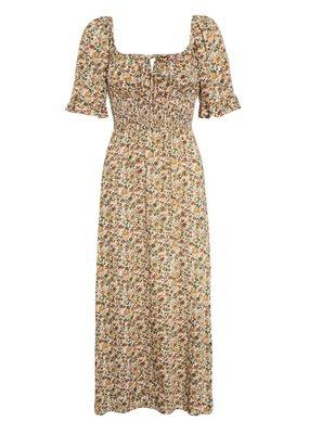 Faithfull El Paso Midi Dress in Seymour Floral Print