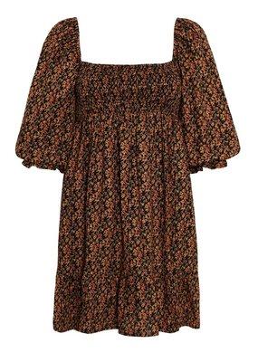 Faithfull Elira Mini Dress in Cardette Floral Print