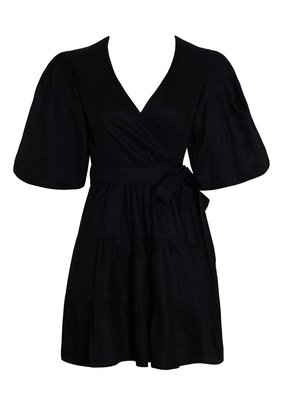 Faithfull Rooney Wrap Mini Dress