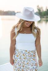 Saltwater Luxe Mina Midi Skirt - Wildflower Print