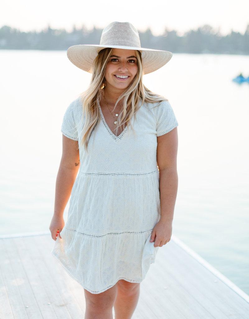 Show Me Your Mumu Cia Mini Dress - Midsummer Ivory