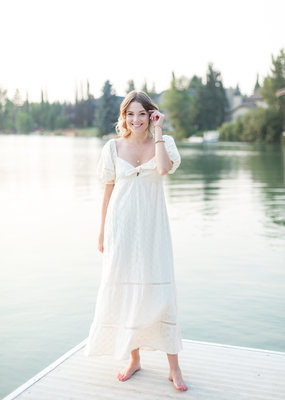 Show Me Your Mumu Show Me Your Mumu - Zen Midi Dress in Midsummer Ivory
