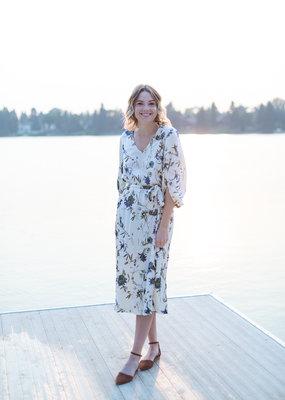 Part Two Iselin Floral Dress