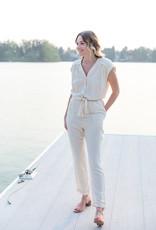 Louizon Cyclade Jumpsuit in Ivory
