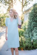 Triana by C Quartz Dress in Sage