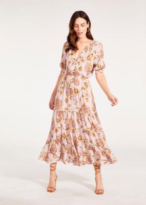 BB Dakota Romantic Rights Dress in Rose Mauve