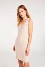 BB Dakota Curve Alert Dress in Alabaster