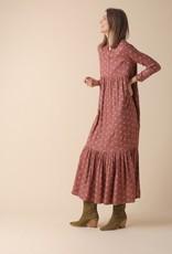 Indi and Cold Jane Terracotta Midi Dress