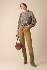 Indi and Cold Printed Floral Blouse