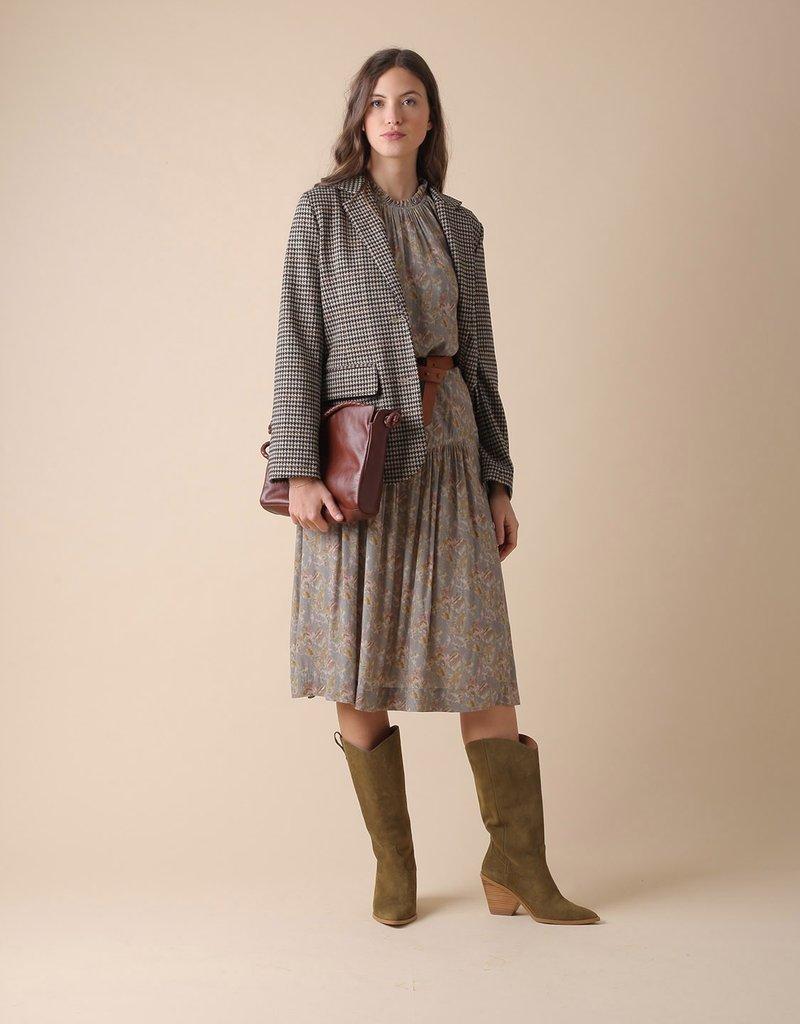 Indi and Cold Franka Printed Midi Skirt