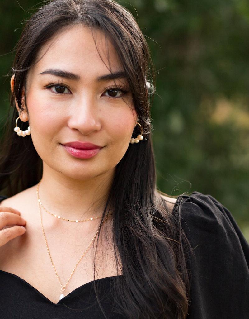 ICHI Solange Dress in Black