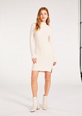 BB Dakota Alabaster Talking Body Dress