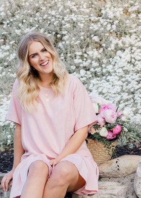 Emma Knudsen The Original Lauren Dress in Pink