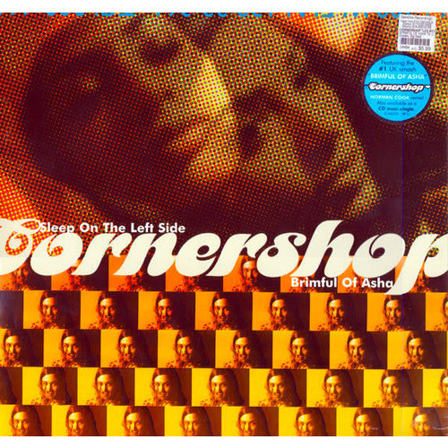 Cornershop - Sleep On The Left Side / Brimful Of Asha [USED]