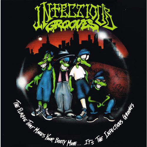 Infectious Grooves - The Plague That Makes Your Booty Move... It's The Infectious Grooves (Glow In The Dark vinyl) [USED]
