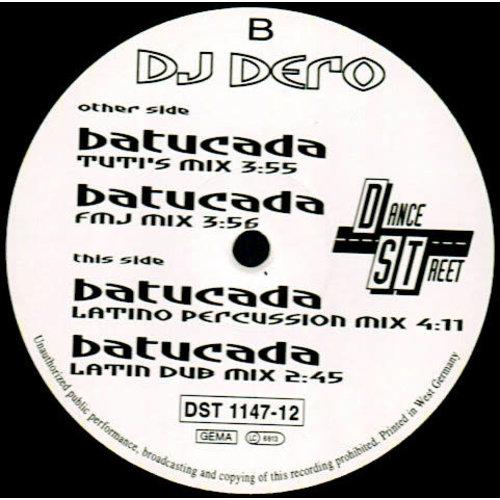 DJ Dero - Batucada [USED]