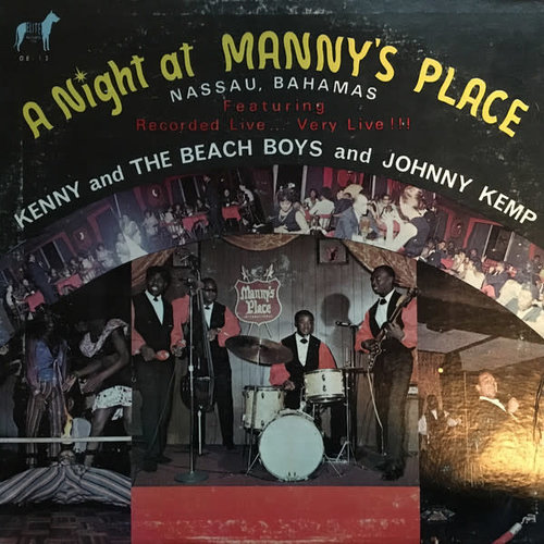 Kenny And The Beach Boys And Johnny Kemp - A Night At Manny's Place [USED]