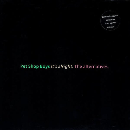 Pet Shop Boys - It's Alright (The Alternatives) [USED]