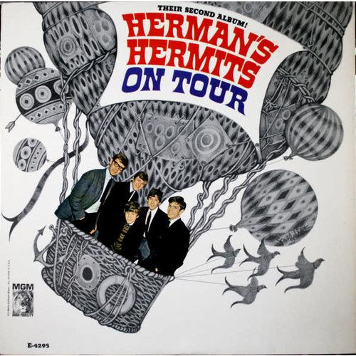 Herman's Hermits - Their Second Album! Herman's Hermits On Tour (Mono) [USED]