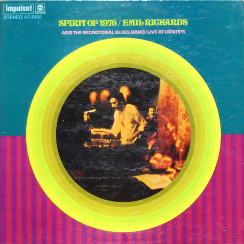 Emil Richards & The Microtonal Blues Band - Spirit Of 1976 / Live At Donte's [USED]