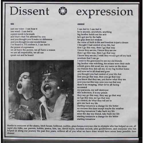 Dissent - Expression [USED]