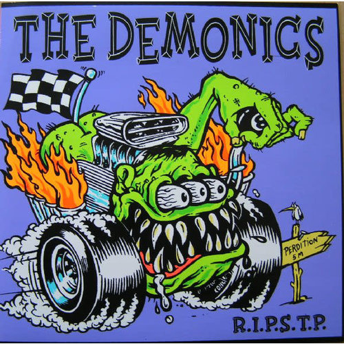 The Demonics - R.I.P.S.T.P. (Limited Edition, Yellow Translucent Vinyl) [USED]