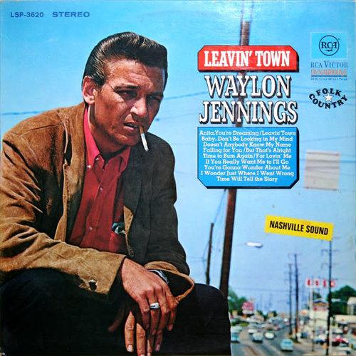 Waylon Jennings - Leavin' Town [USED]