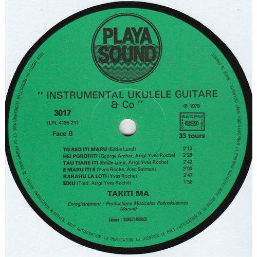 """Takiti Ma - 3 """"Instrumental Ukulele Guitare & Co."""" [USED]"""