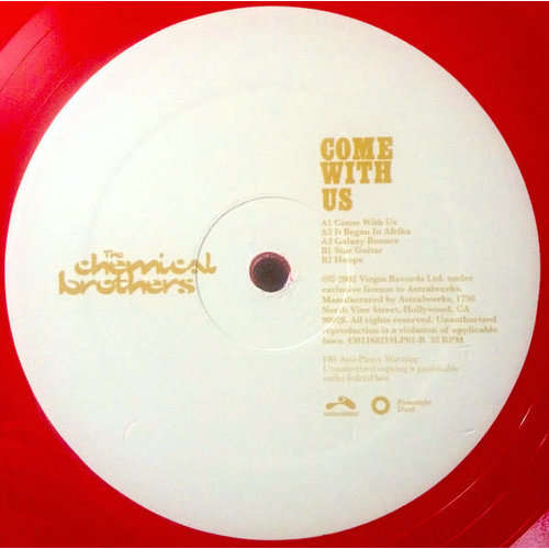 The Chemical Brothers - Come With Us (Limited Edition) [NEW]