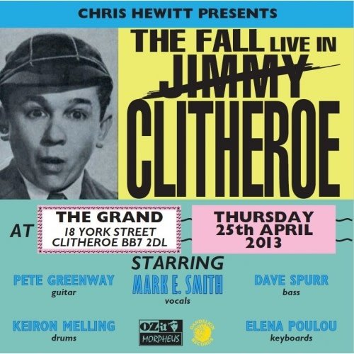 The Fall - The Fall Live In Clitheroe  [NEW]