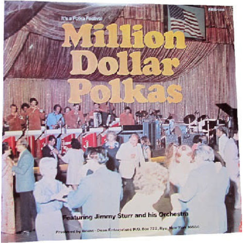 Jimmy Sturr And His Orchestra - Million Dollar Polkas [USAGÉ]