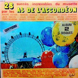 Various - 28 Succès Increvables Du Musette Par Les As De L'Accordéon [USED]