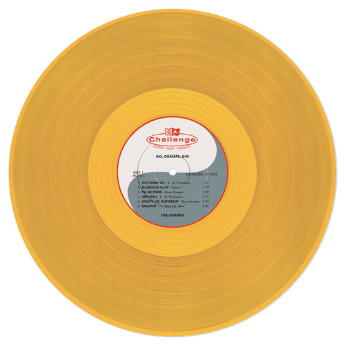 The Champs - Go, Champs, Go! (Gold Vinyl) [NEW]