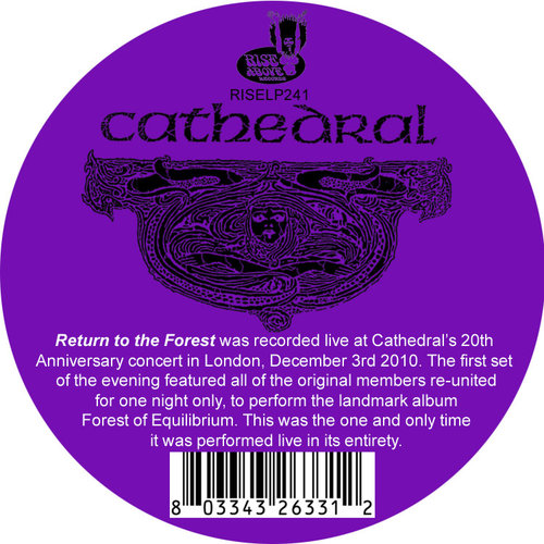 Cathedral - Return To The Forest (Live) (Limited Edition) [NEW]