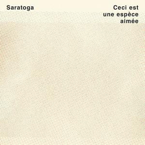 Saratoga - Ceci Est Une Espèce Aimée (Vinyle turquoise + Recueil de poésie) [NEUF]