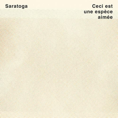Saratoga - Ceci Est Une Espèce Aimée (Vinyle turquoise + Recueil de poésie) [NEW]