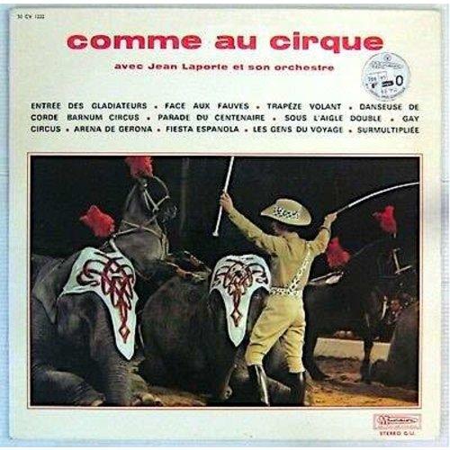 Jean Laporte Et Son Orchestre - Comme Au Cirque [USED]