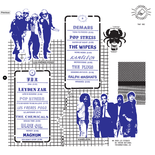 Various - Nome Noma Québec Post-Punk Et New Wave 1979-1987  [NEW]