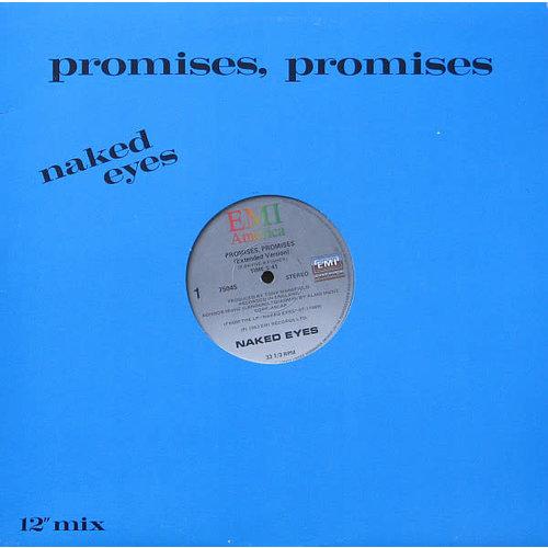 """Naked Eyes - Promises, Promises (12"""" Mix) [USED]"""