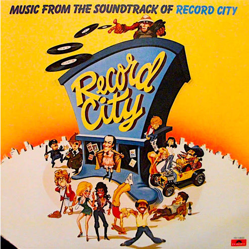 Various - Music From The Soundtrack Of Record City [USED]
