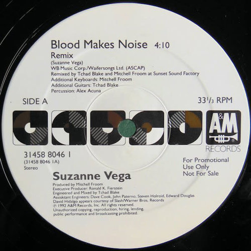 Suzanne Vega - Blood Makes Noise [USAGÉ]