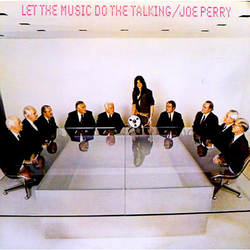 The Joe Perry Project - Let The Music Do The Talking [USED]