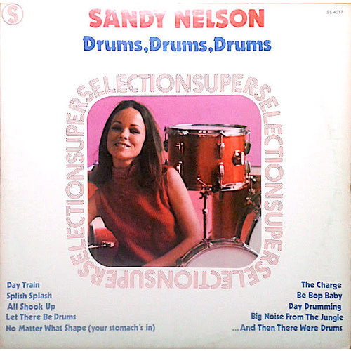 Sandy Nelson - Drums, Drums, Drums [USED]